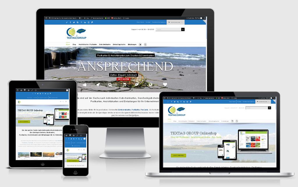 Onlineshop für Postkarten, Ansichtskarten, Gutscheinkarten, Grußkarten