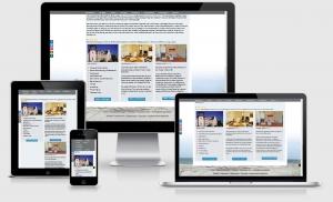 Responsive Webdesign Website Referenz Ferienwohnungen Binzer Perlen, Binz, Rügen, Ostsee