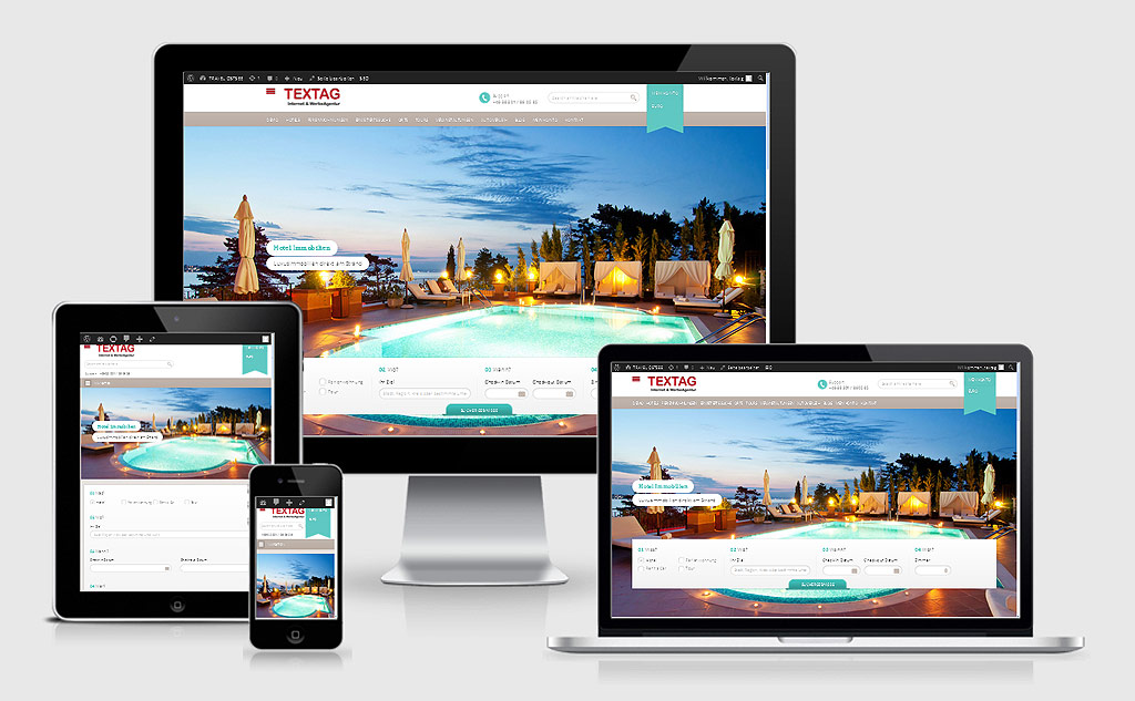 Website Mietkauf - Symbol-Screenshot: Responsive Website