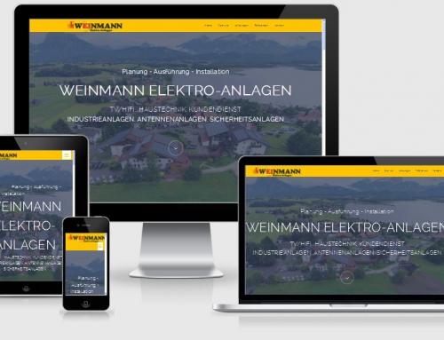 ONEPAGE – Elektro-Anlagen Weinmann, Hohenpeißenberg