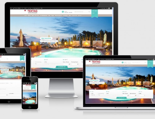 Responsive Tourismus Portal Website Design Vorlage