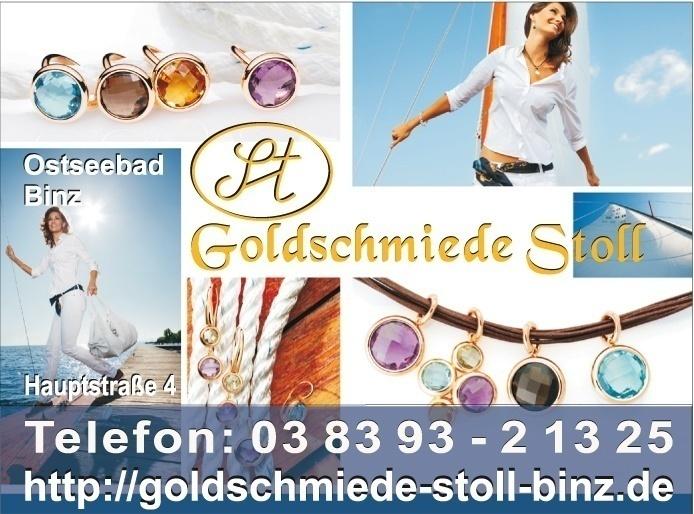 Grafik & Design Referenzen: Goldschmiede Sabine Stoll, Binz