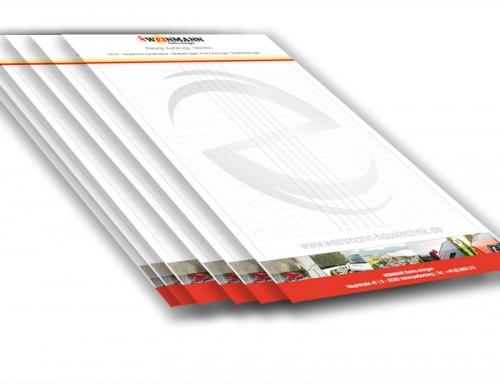 Grafik & Design Referenzen: Weinmann Haustechnik, Hochpeißenberg