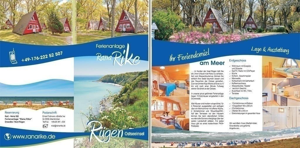 Grafik & Design Referenzen: Ferienhäuser Rana Rike