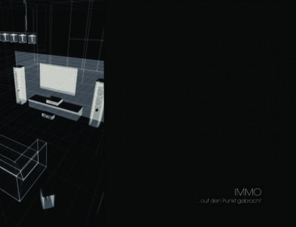 Design Vorlage IMMOBILIEN DESIGN Black