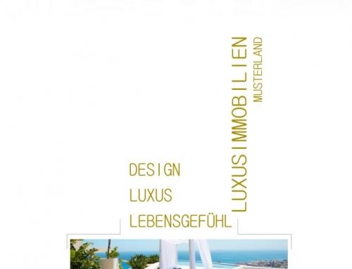 Esposé Vorlage – Grafik Design Vorlage WHITE & GOLD