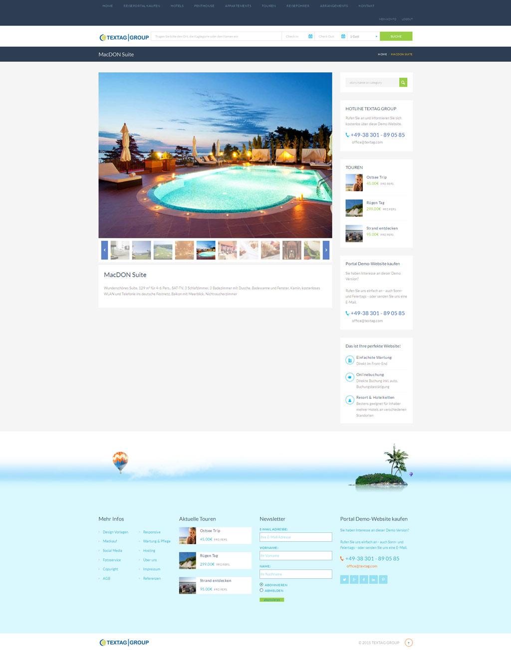 Angebot webdesign vorlage hp e voucher