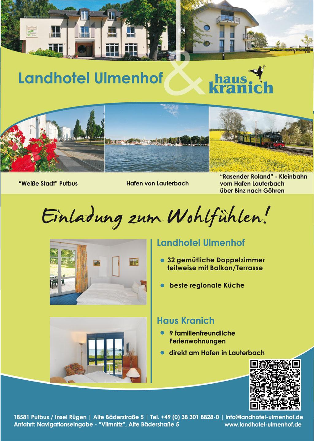 Grafik & Design Referenzen: Flyer DIN A5 - Landhotel Ulmenhof