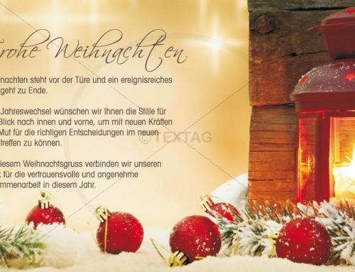 Weihnachtskarte, Bochum-Wattenscheid