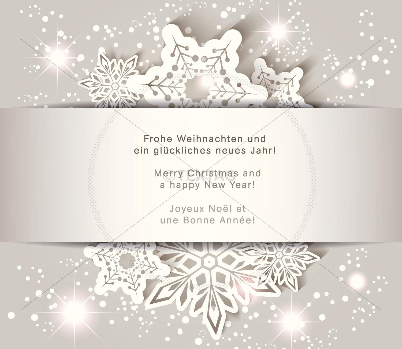 Grafik & Design Referenzen: Werbefreie Weihnachts-E-Card, PCS GmbH, Lugnorre, Schweiz