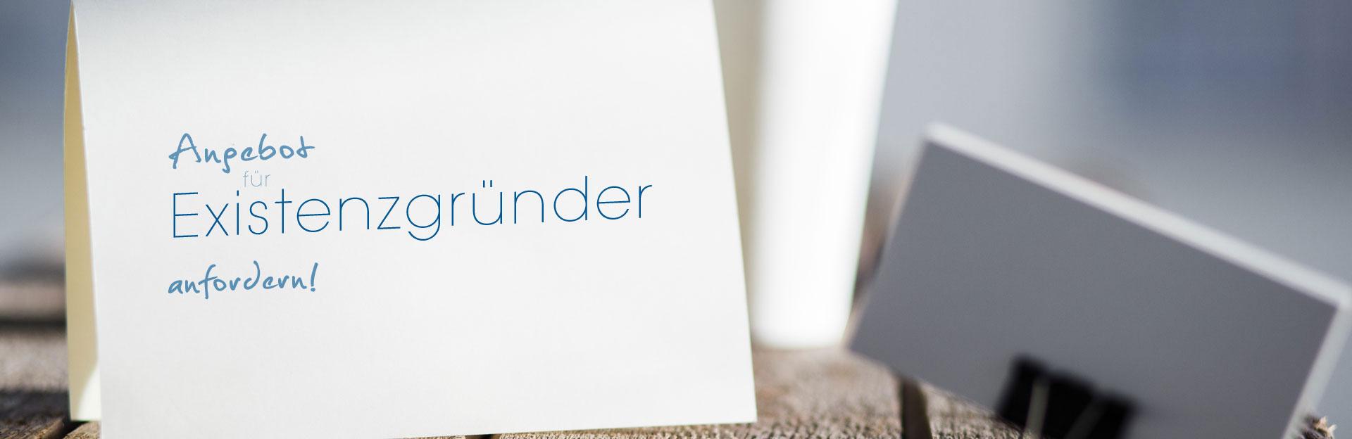 Existenzgründer Angebote