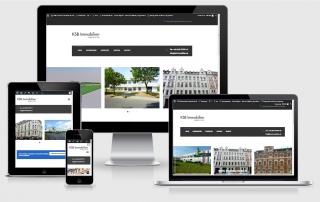 Webdesign Referenz- KSB-Immobilien-GmbH-CoKG