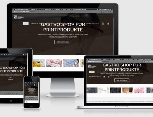 Onlineshop für Postkarten und Geschenkgutscheine