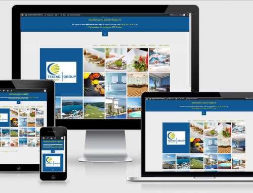 Responsive Webdesign Vorlage
