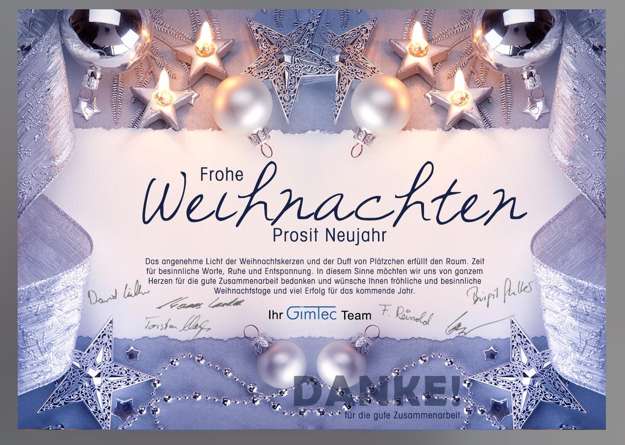 personalisierte Weihnachts-E-Card