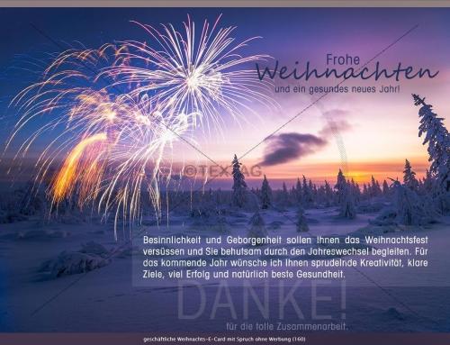Weihnachts-E-Card,  Gropag Consulting AG, Rüti, Schweiz