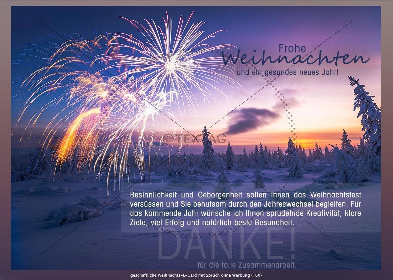 Weihnachs-E-Card, Gropag Consulting AG, Rüti, Schweiz