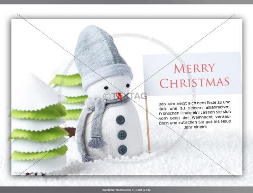 Weihnachts-E-Card, Realotel Hamburg Hotelbetriebs GmbH, Hannover