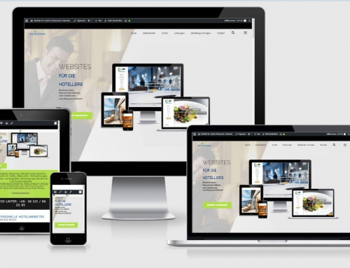 One Page, Landingpage Webdesign Vorlage