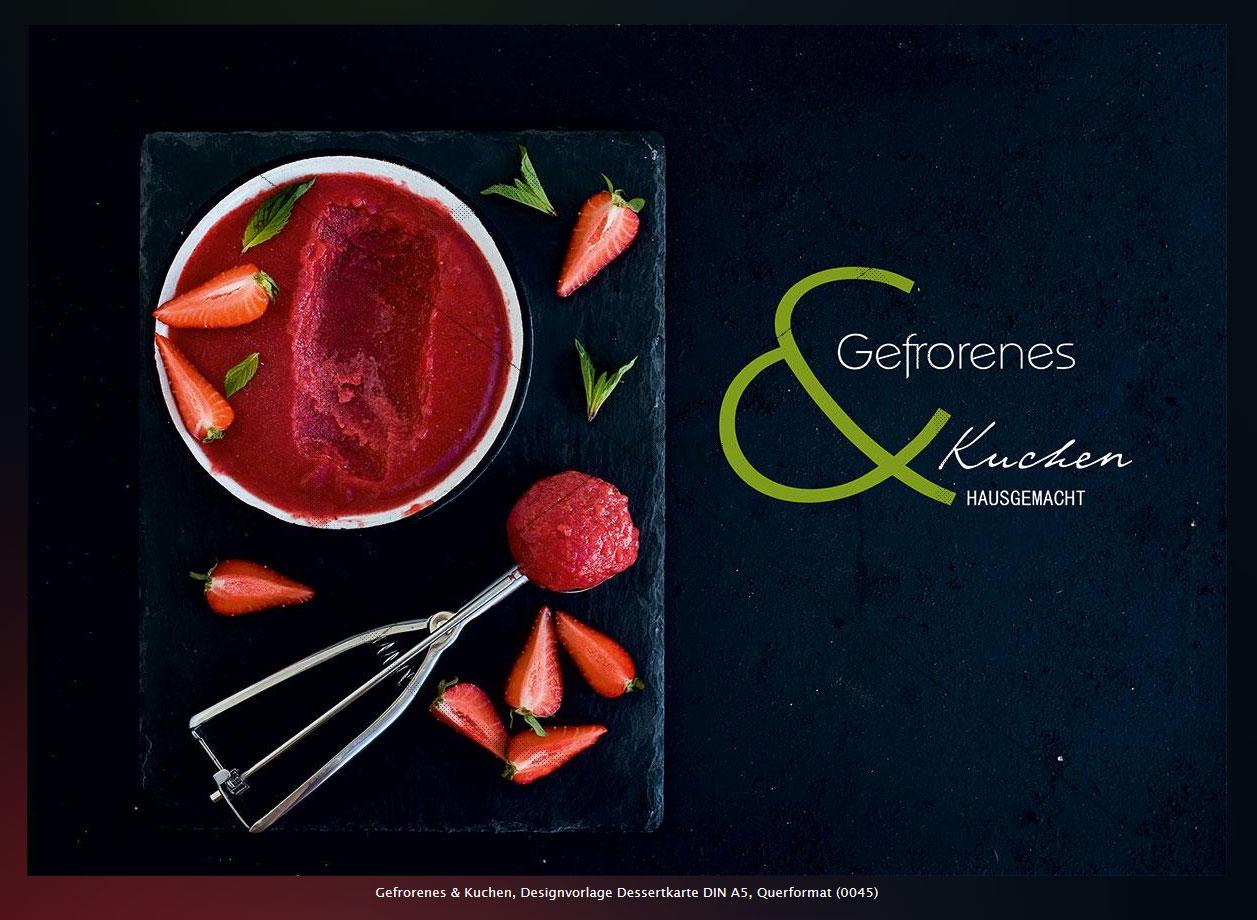 Speisekarte Design Vorlage » TEXTAG GROUP Webdesign & Werbung, Rügen
