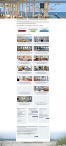 Responsive Webdesign Referenz Website, Umprogrammierung Responsive Design, Luxusferienwohnungen Binzer Perlen, Binz, Rügen, Ostsee, Norddeutschland