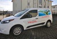 Referenz Autobeschriftung, Hotel Waldperle Göhren