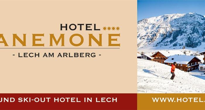 Grafik & Design Referenzen: Briefkopf: Header & Footer Design Vorlage, Hotel Anemone****, Lech am Arlberg, AT
