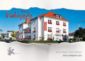 Referenz Postkarten / Ansichtskarten Postkarte-A6-148x105, Hotel Waldperle Göhren