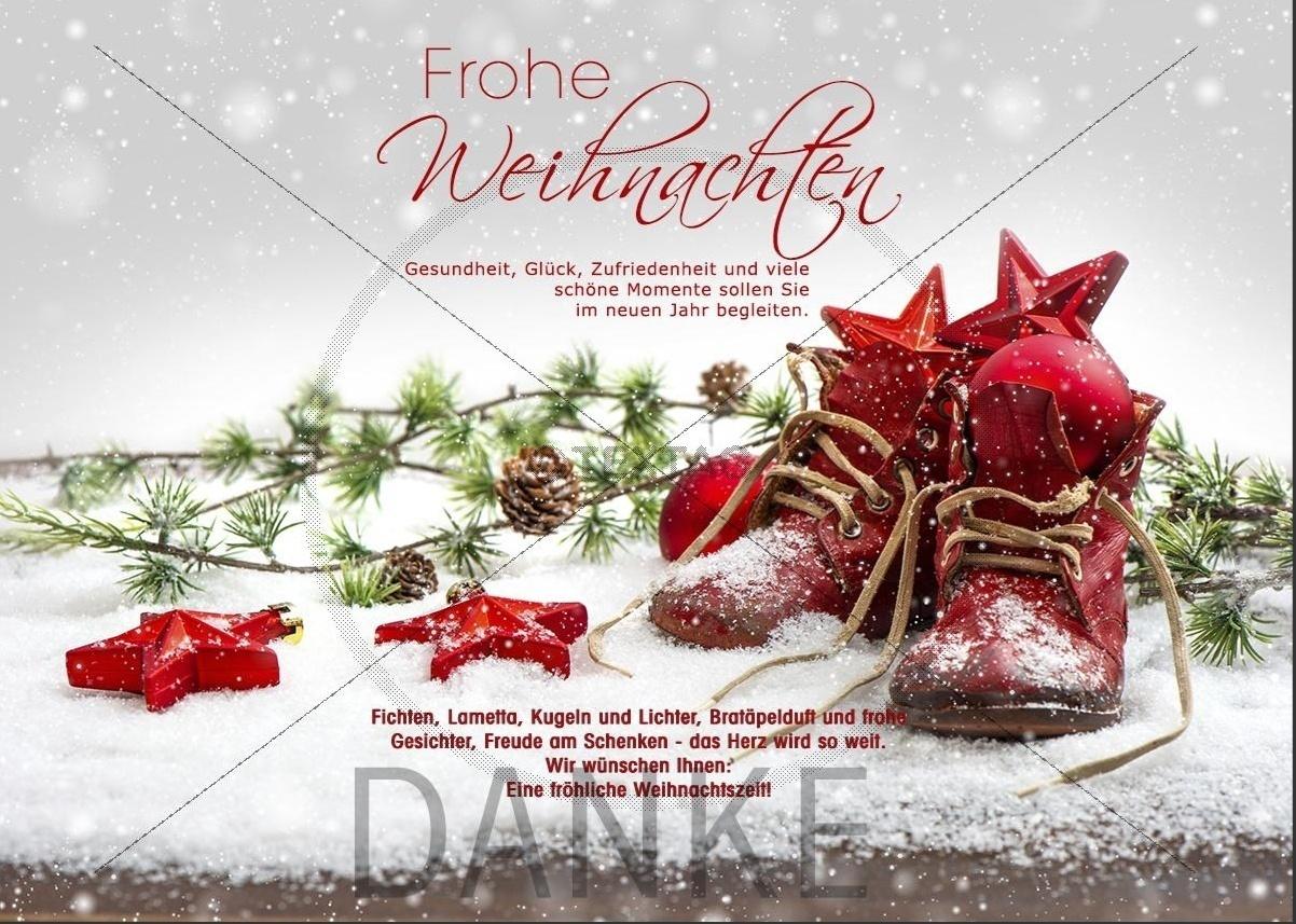nostalgische Weihnachts-E-Card mit Spruch und ohne Werbung (186)
