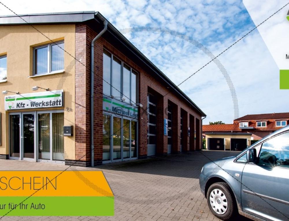 Grafik & Design Referenzen: Gutscheinkarte AUTOteamLAST, Putbus