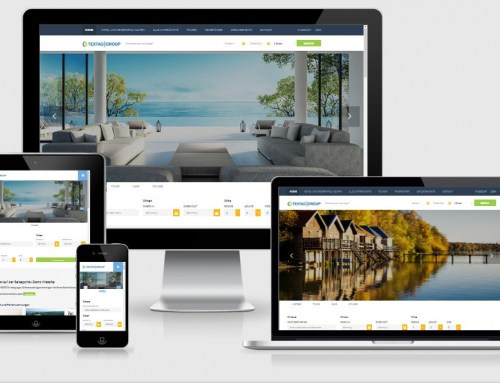 Responsive Hotel Resort Website Design Vorlage
