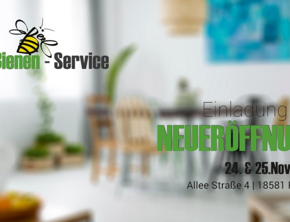 Grafik & Design Referenzen: Einladungskarte powerBienen-Service GmbH, Putbus