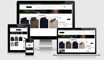 Responsive Webdesign Referenz - Onlineshop - TEXTILBURG GmbH & Co KG, Berlin, Rügen