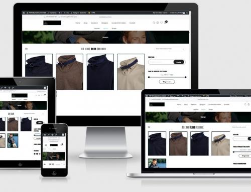 Onlineshop – TEXTILBURG GmbH & Co KG, Berlin, Rügen