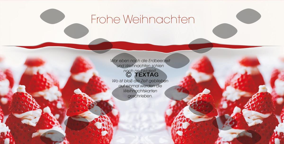Grafikdesign Referenz - Der Landstreicher, Postdamm - Weihnachstkarte DIN lang
