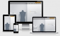 Resoponsive Webdesign Referenz, Onepage, TEXTILBURG GmbH & Co KG, Berlin, Rügen