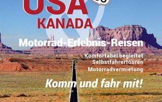 Imagewerbung DIN A4 Reiner Heller JH Amerika-Heller, Kulmbach, Las Vegas, USA