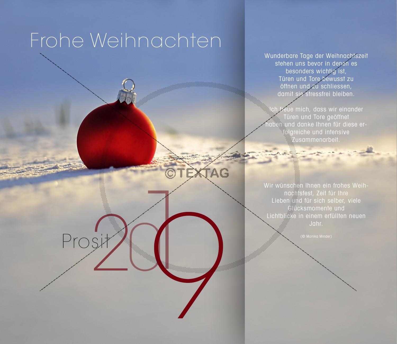 moderne Weihnachts-E-Card mit Spruch, ohne Werbung (0141)