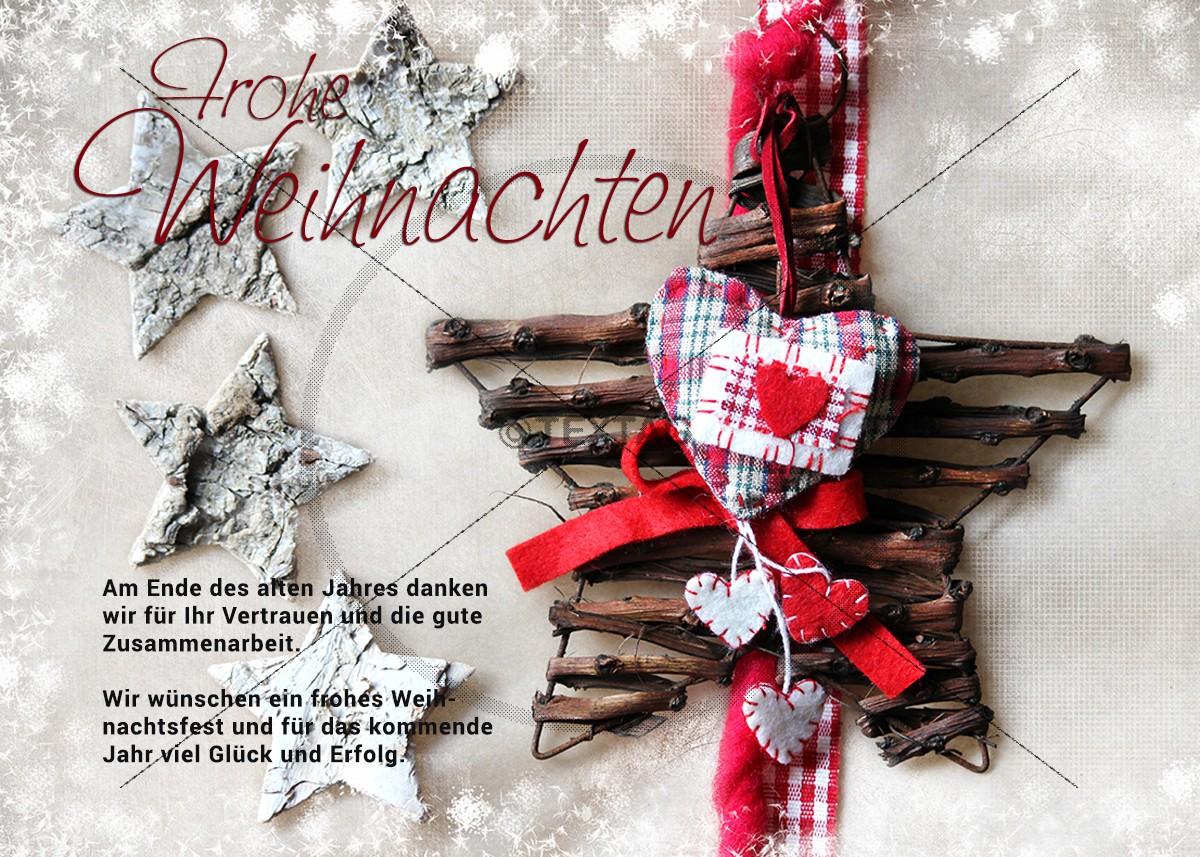 nostalgische, geschäfltiche Weihnachts E-Card mit Spruch • E-Card (241)