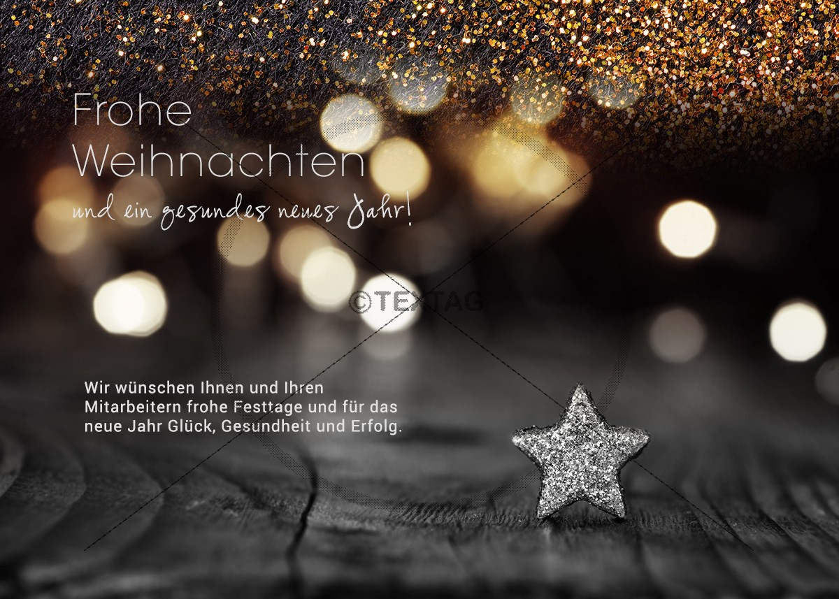 Weihnachts Grusskarte-eCard mit silbernen Stern • Weihnacht eCard (254)
