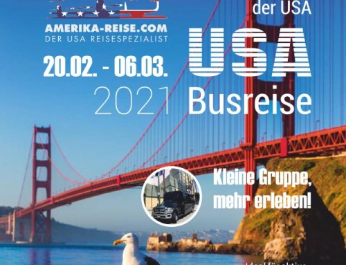 Broschüre Amerika Busreisen – JH Amerika-Heller, Las Vegas, USA – Kulmbach, DE