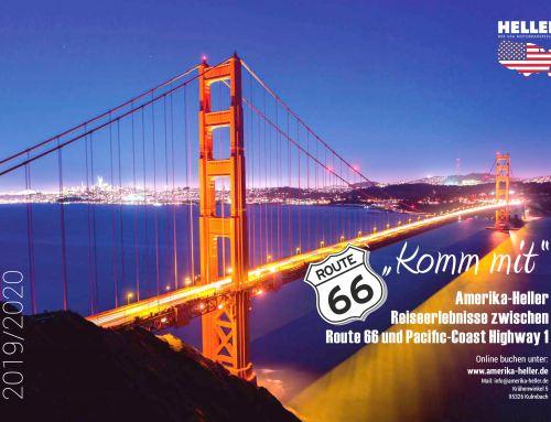 Wandkalender Entlang der Route 66 mit Reiner Heller JH Amerika-Heller, Las Vegas, USA – Kulmbach, DE