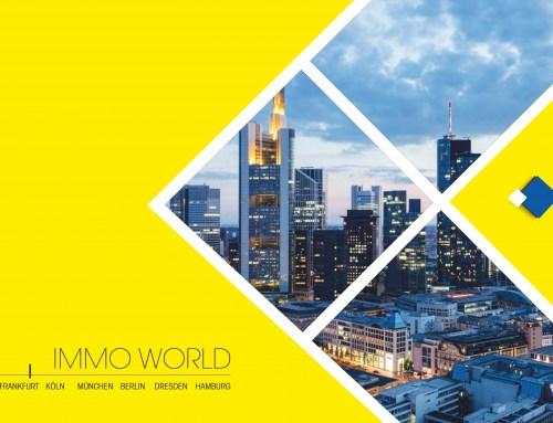"""Immobilien Exposè Vorlage """"Immo World Frankfurt, Köln, München, Berlin, Dresden, Hamburg"""""""