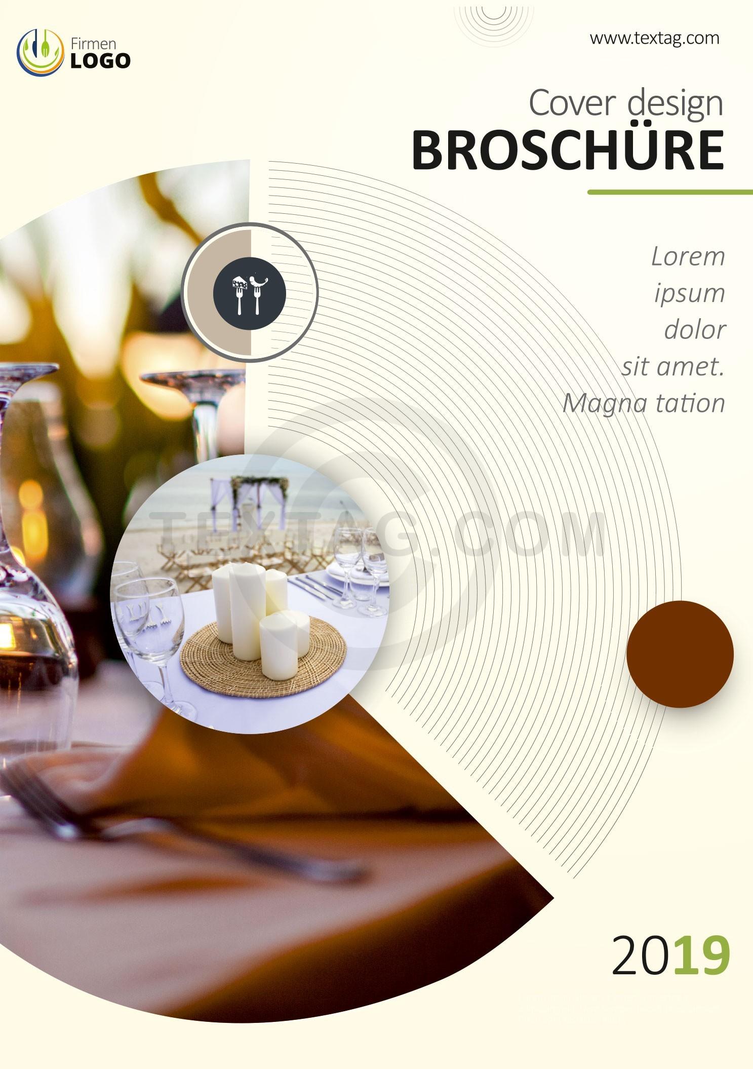 Gastro Broschüre, Vorlage für Restaurants, Hotels, Bars, Speiskarte, Getränkekarte , Weinkarte, Eiskarte