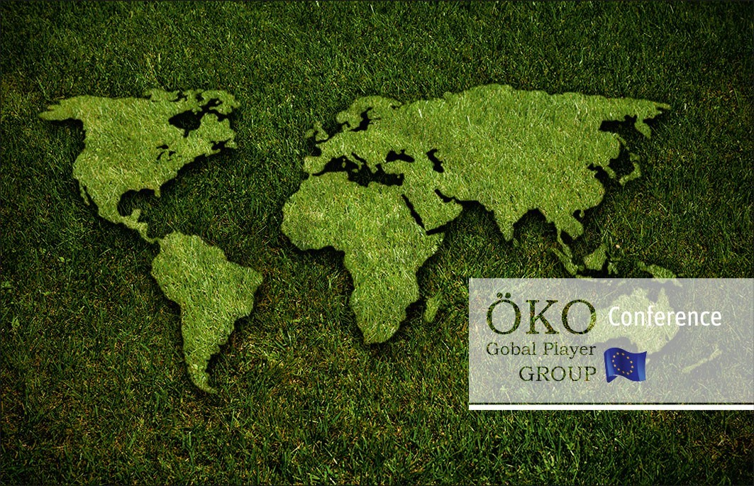 "Kundenkarte GRASKARTE ""ÖKO GLOBAL PLAYER"" Design Vorlage GK-2019-000140"