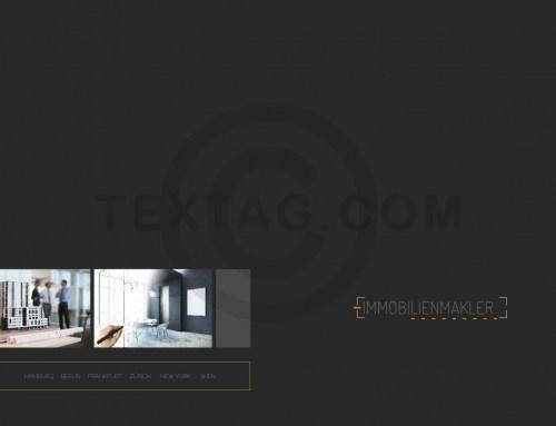 """Exposé / Broschüre """"Modern Art"""" Vorlage online für Immobilienmakler & Architekten"""