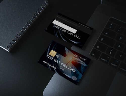 Kreditkarte Designvorlage KC-2019-000100