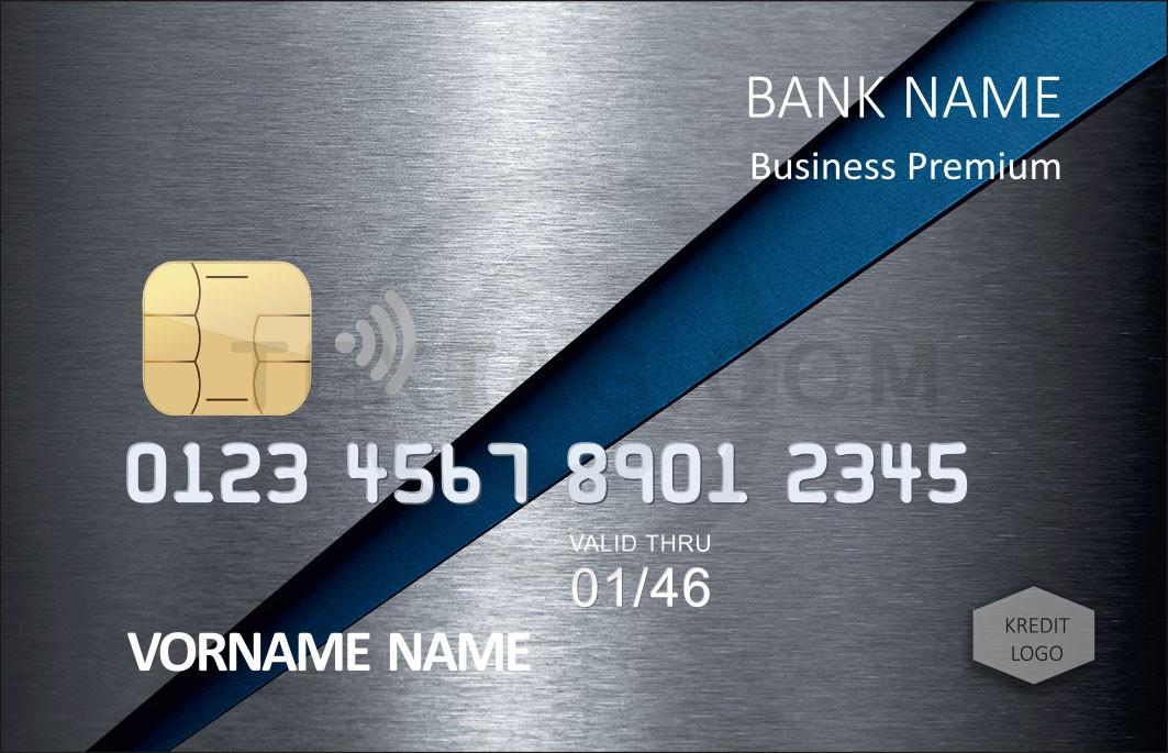 Kreditkarten Design Vorlage KC-2019-000102 TEXTAG GROUP - Kreditkarte mit individuellem Motiv