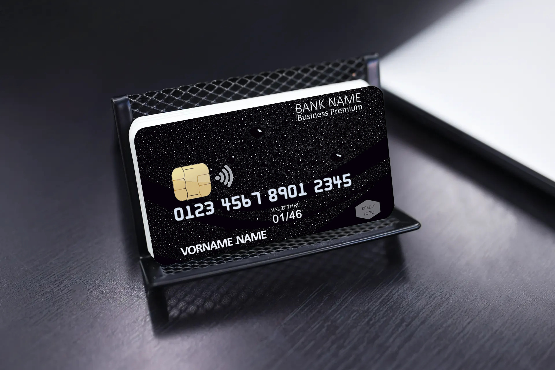 Kreditkarte Designvorlage KC-2019-000109 - TEXTAG GROUP