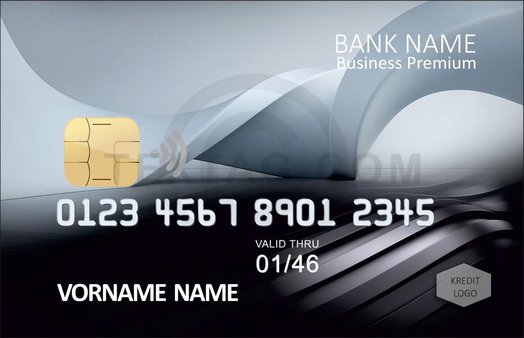 Kreditkarte Designvorlage KC-2019-000110 - TEXTAG GROUP